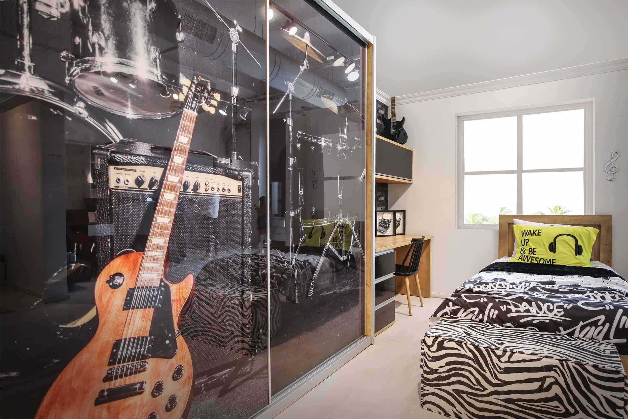 חדר שינה מעוצב לנוער